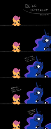 being different - a Scootaloo story by chibi95