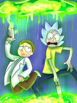 Swap Rick and Morty by danna23523