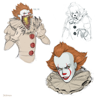 The Dancing Clown by Skal-Men