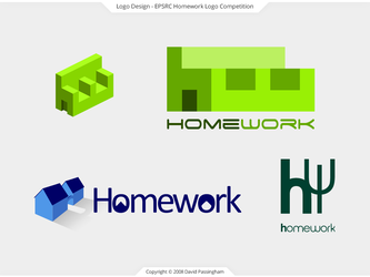 Homework Competition Logos by BoffinbraiN