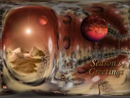 Greetings Card 1 by AnnaKirsten
