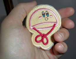 Parachute Kirby patch by KirbyIsLove