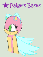Pixel Winged Base by Paige-the-unicorn