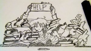 A Million Papers, One Pencil. by xpripri81