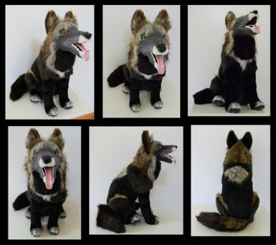 Melanistic Wolfer by SarityCreations