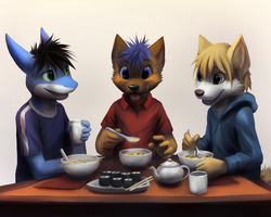 [Commission] Miso Soup by thanshuhai