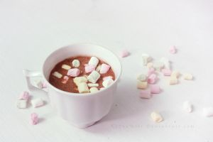 Hot Chocolate with Marshmallows by ElyneNoir