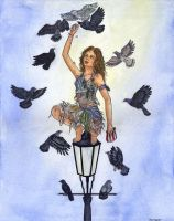 Girl Who Was Raised By Pigeons by gpalmer