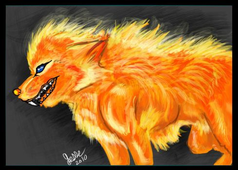 firewolf by Twisted-Trickster