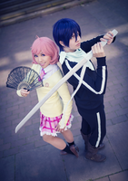 Noragami . Willing to fight by kazenary