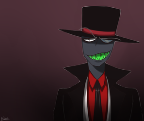 Villainous-Black Hat by w-Kiwi-w