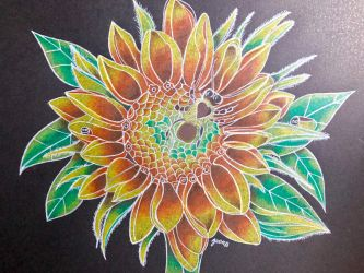 Sunflower by marygracevillena