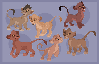 Outlander Cubs -DESIGNS CLOSED- by Kitchiki
