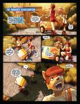 The Black Paw ROTD Page 01 by GleamingScythe