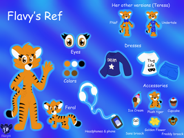Flavy's Official Ref! by TheTigressFlavy