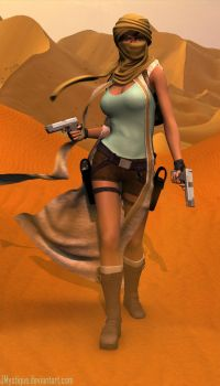 Lara Croft Tomb Raider IV by JMystique