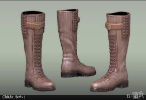 cavalry boots by emaciate