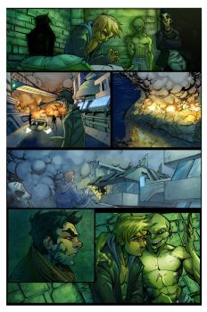 SON page 16 colors by Alex0wens