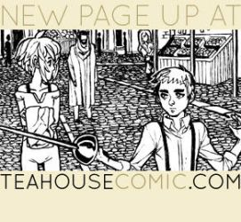 Chapter 6 Atros and Linneus Page 1 by teahousecomic