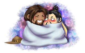 [OVERWATCH] McHanzo (colored)(+VIDEO) by Sir-Wei