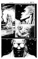 Darkness - Issue 5 Page 8 INKS by MichaelBroussard