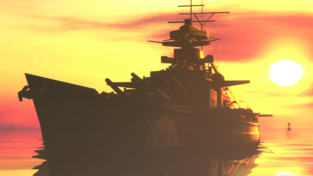 The Bismarck by TheImperialCombine