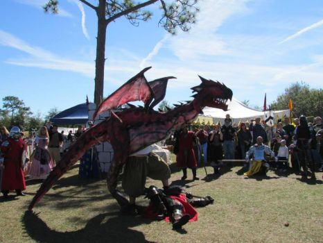 Rathalos Winning Dragon Festival Melbourne Florida by franchii-manchii