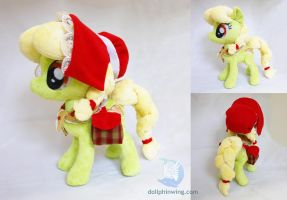 Young Granny Smith Plushie by dollphinwing