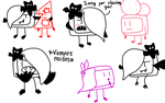 Some Vampire Cake doodles by The-Creative-Sketchy