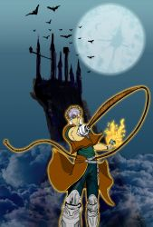 CASTLEVANIA circle of the moon by myroboto