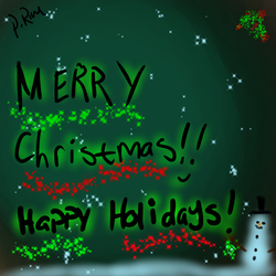 Merry Christmas!!! by ZeldaDairylover54