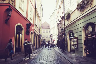 Prague Street by JackieTran
