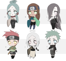 CLOSED - Naruto Adopts (0/6) by Jellious