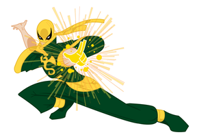 Iron Fist by onecoyote