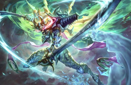 Double Extreme Fusion Garo by gsd748