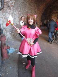 Card Captor Sakura - Kitty costume by Jessica-chwan01