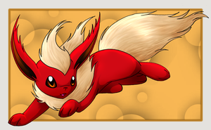 Flareon by ValentineUmbreon