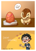 PG - Im An Egg Too! (1/3) by PaperZombiie