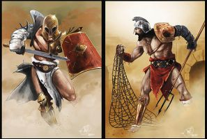 gladiators by dugazm