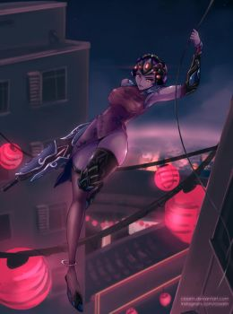 Black Lily Widowmaker by Claarin