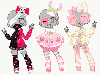 Outfit Adopt Set [Closed] by yuki-white