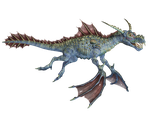Water Dragon 01 PNG Stock by Roy3D