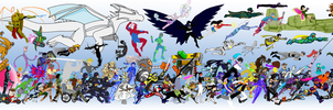 DU Collage 2012 (Heroes) by mja42x