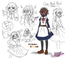 -Quick Doodle- ??? / Gas Mask Maid by NaughtyKittyDV-1992