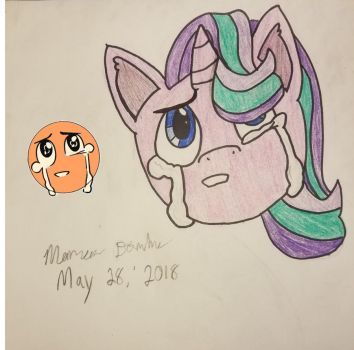 Crying Starlight by MarcusDragon111