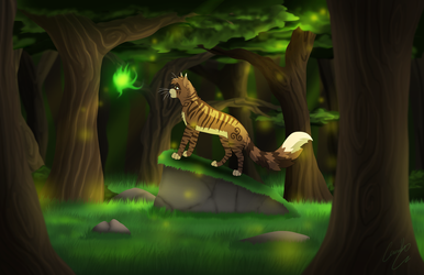 Destiny Finds Those in the Forest by LotusLostInParis