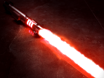 Force Awakens Light Saber Test by hi2tai