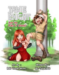Jamie Knight and the Ruby of Artemis (E-NOVEL!) by MrTenacious01