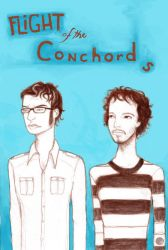 Flight of the Conchords by Midnight-cat
