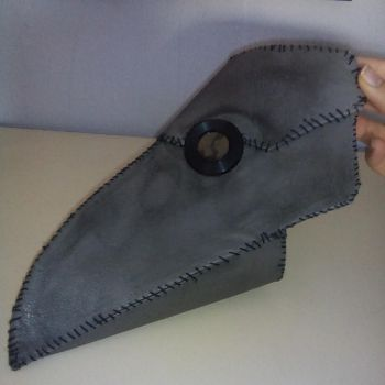 Plague Doctor Mask: WIP (Doctor peste negra) by rokuso3